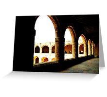 Grecian arches Greeting Card