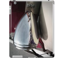 silver mirror iPad Case/Skin