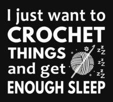 Crochet and Sleep by bestdesignsever
