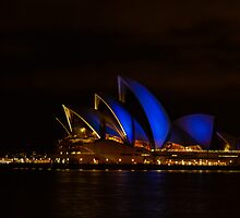 Blues at the Opera House by Andrew Fysh