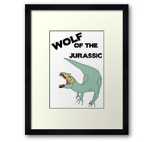 Wolf of the Jurassic Framed Print