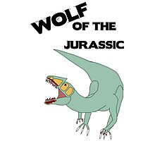 Wolf of the Jurassic Photographic Print