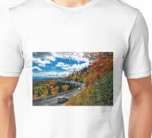 linn cove viaduct near grandfathers mountain Unisex T-Shirt