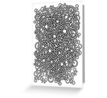 Tangled Up In Bicycles Greeting Card