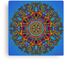 Mandala 55 - Jim Gogarty Canvas Print