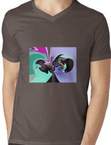 Fingerling Mens V-Neck T-Shirt