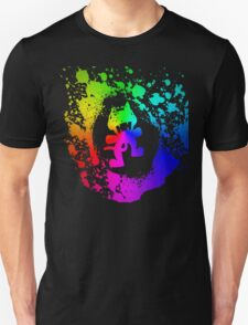 Colourful feline.  Unisex T-Shirt