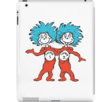 THING 1 THING 2 iPad Case/Skin