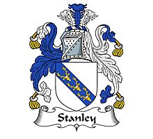 Stanley Coat of Arms / Stanley Family Crest Photographic Print