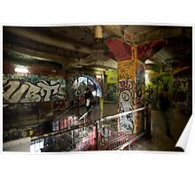 Interior of the Kunsthaus Tacheles Poster
