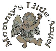 Mommy's Little Angel Photographic Print