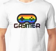 Rainbow Gamer Gaymer Unisex T-Shirt