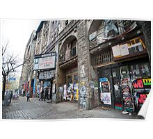 Exterior of the Kunsthaus Tacheles Poster