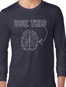 Use this Brain Long Sleeve T-Shirt