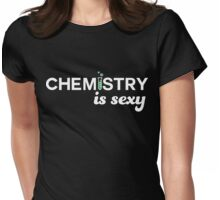 Chemistry is Sexy Womens Fitted T-Shirt