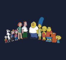 The Simpsons vs Family Guy (Parody) by evaparaiso