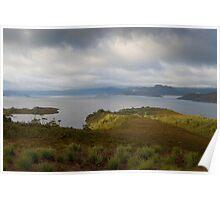 lake peddder lookout Poster