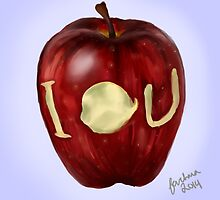 Moriarty IOU apple- BBC Sherlock by Farhana Bashar