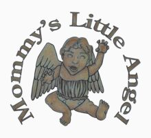 Mommy's Little Angel Kids Tee
