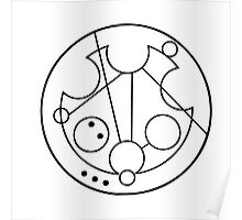 """Bowties are Cool"" Translated into Gallifreyan Poster"