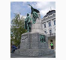 Preseren Monument, Ljubljana, Slovenia Unisex T-Shirt