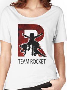 Team Rocket Texture R  Women's Relaxed Fit T-Shirt