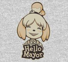 Hello Mayor Kids Tee