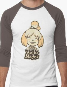 Hello Mayor Men's Baseball ¾ T-Shirt