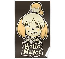 Hello Mayor Poster