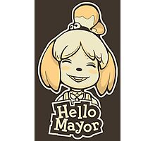 Hello Mayor Photographic Print