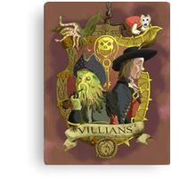 Villains- Pirates of The Caribbean Canvas Print