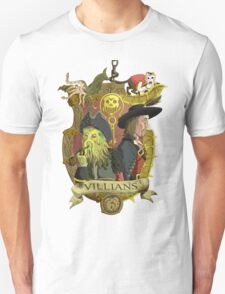 Villains- Pirates of The Caribbean Unisex T-Shirt