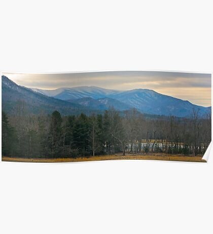 The Great Smoky Mountains from Cades Cove Poster