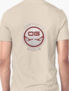 Obstinate Gaming (White Text) T-Shirt