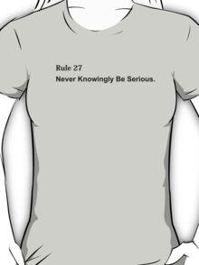 Rule 27 T-Shirt