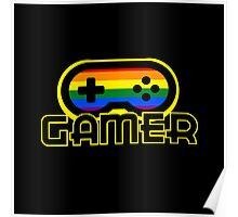 Rainbow Gamer Poster