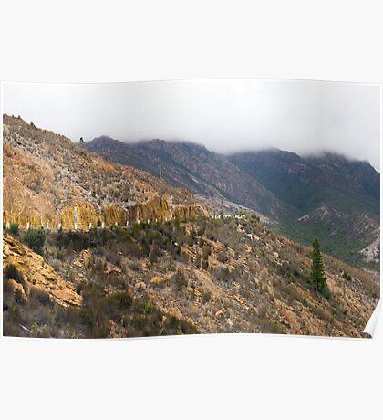 spoil heap landscape Poster