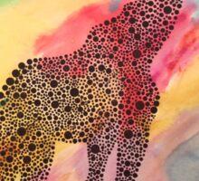 Tie-Dye Giraffe  Sticker