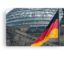 The German National flag Canvas Print