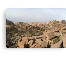 rocky desert mountains Canvas Print
