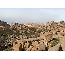 rocky desert mountains Photographic Print