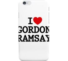I Heart Gordon Ramsay iPhone Case/Skin