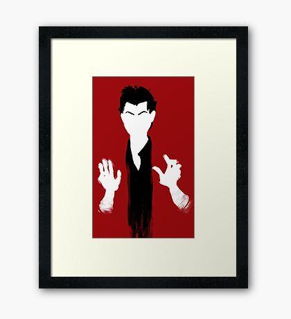 Richard Brook is Innocent Framed Print