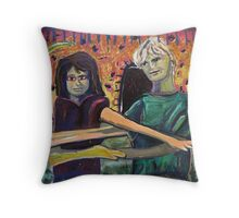 Onwards to Another Three Throw Pillow