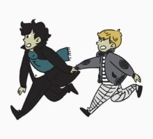 Johnlock Sticker by apitnobaka