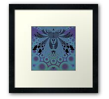 Bubble Bug Framed Print