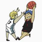 Aokise Sticker by apitnobaka