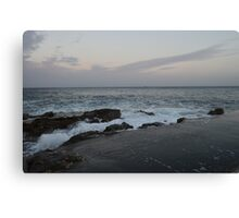 A Beach in Malta Canvas Print