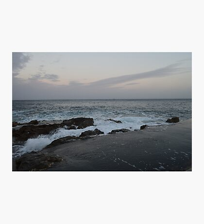 A Beach in Malta Photographic Print