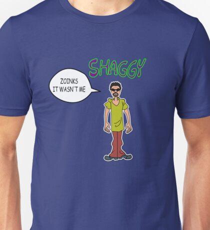 Shaggy- Zoinks It  Wan't Me Unisex T-Shirt